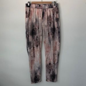 TOPSHOP Tie Dyed Trousers